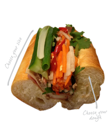Vietnamese pork roll Banh mi in Sydney Best vietnam roll