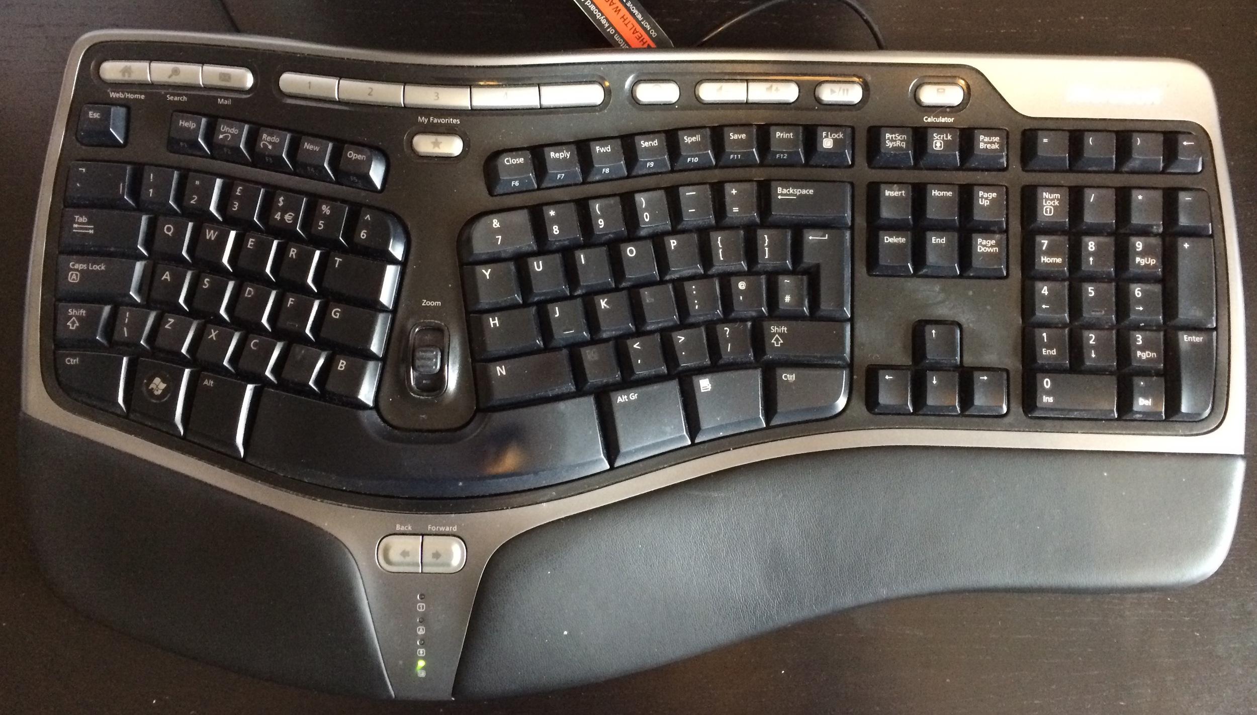 Microsoft Natural Ergo Keyboard 4000