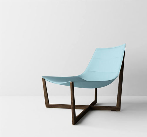 via  dailyicon.net    Saint Tropez Lounge chair by Christophe Pillet for Porro will be launched in Milan this year.