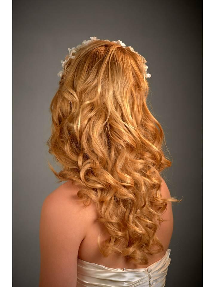 Loose, gorgeous bridal waves