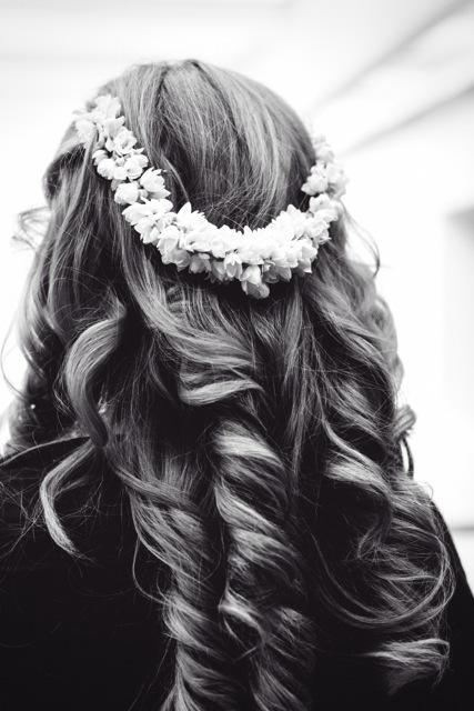 Tumbling Curls for London Wedding