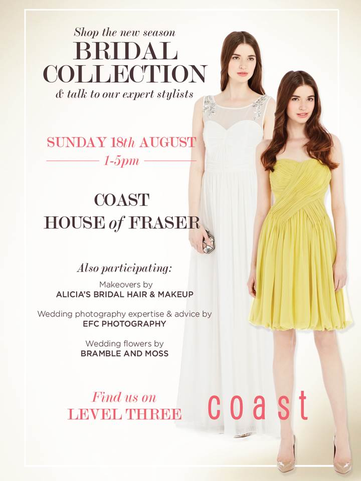 Coast Event with Alicia: Wedding Hair Stylist and Make-up Artist