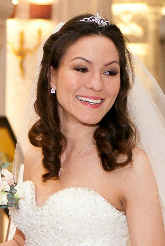 Wedding hair styling surrey