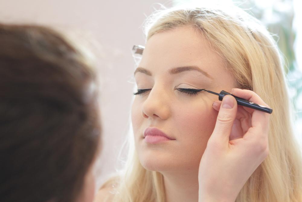 Bridal make-up Surrey