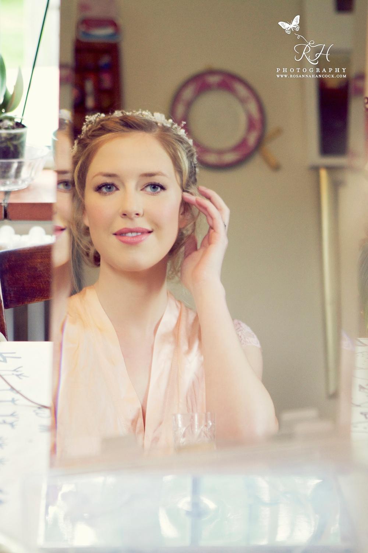 Radiant wedding make-up