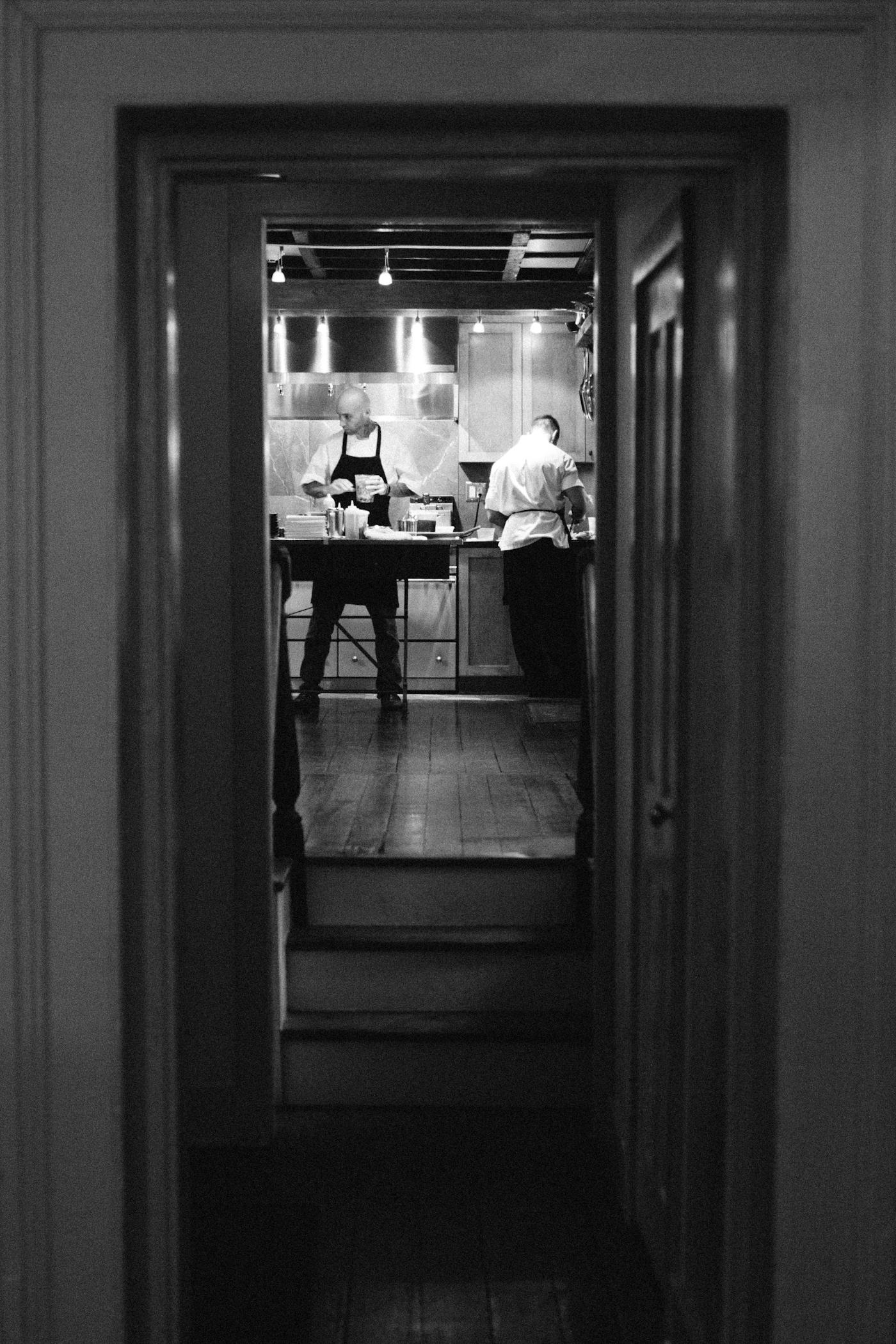 Kitchen at Zero George Street Hotel