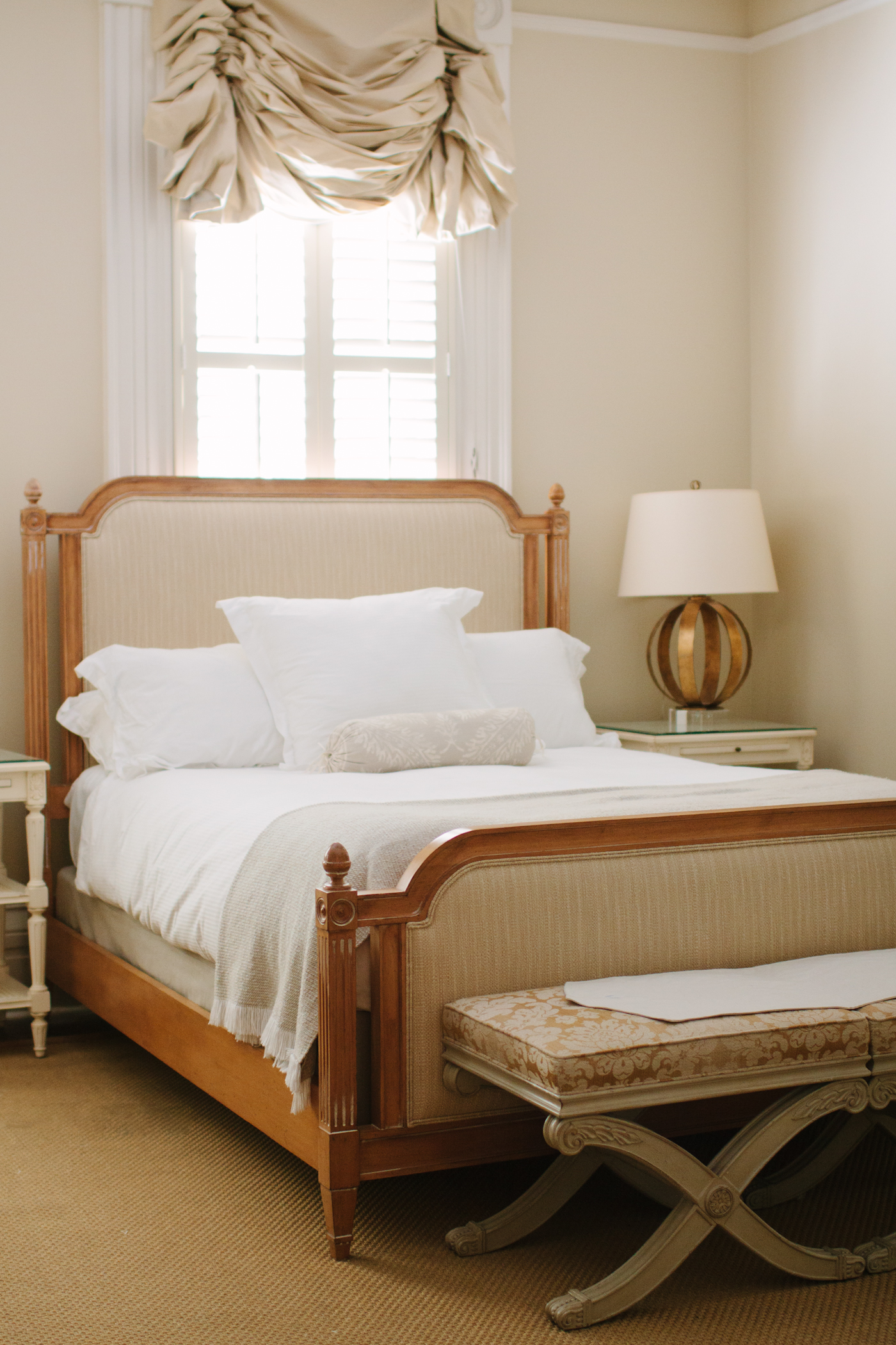 Zero George Hotel in Charleston Bed