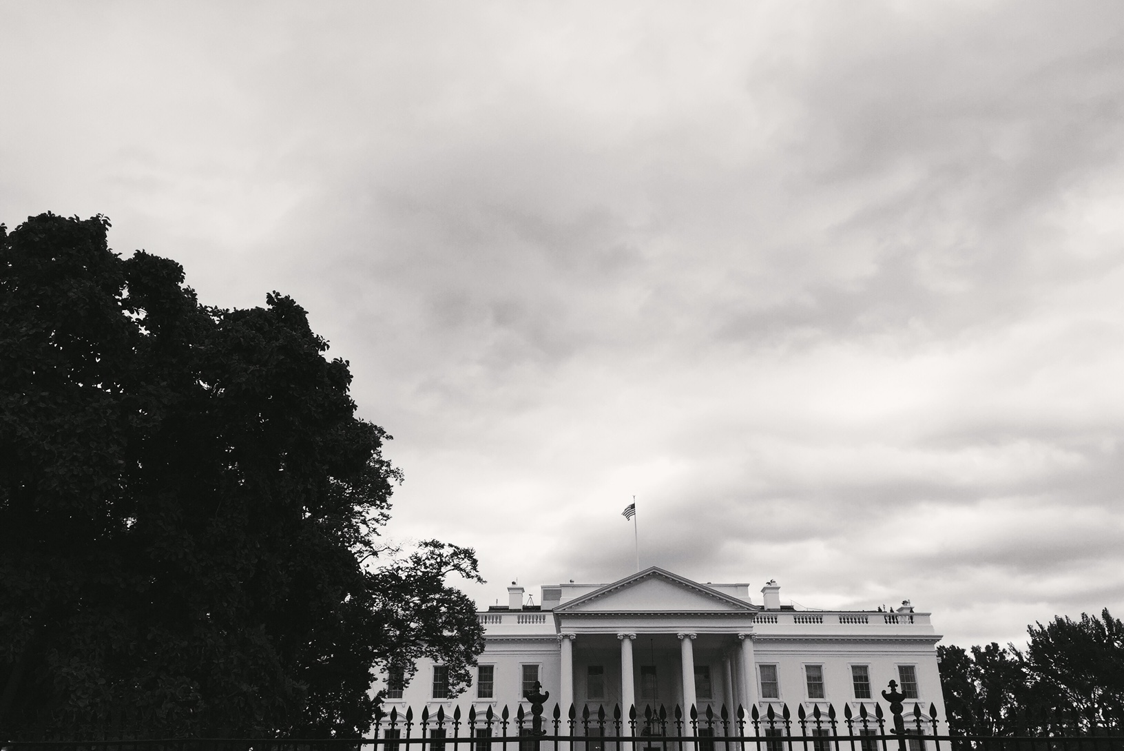 We walked past the White House several times a day -our hotel was that close.