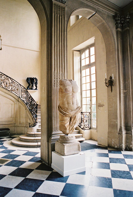 bust musée rodin