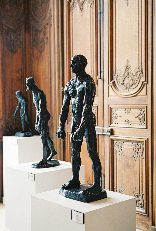statue musée rodin