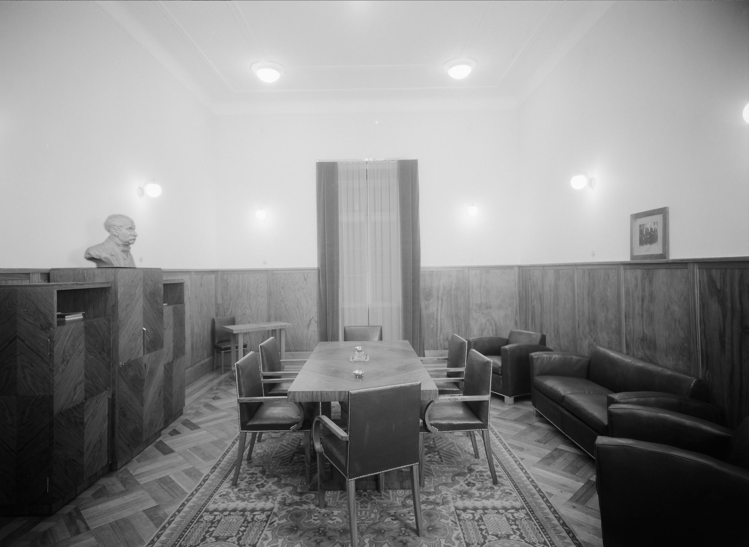 Instituto Superior Técnico, Lisbon  Photo: Mário Novais, ca. 1936-37, Lisbon  Biblioteca de Arte da Fundação Calouste Gulbenkian [CFT003_057326]