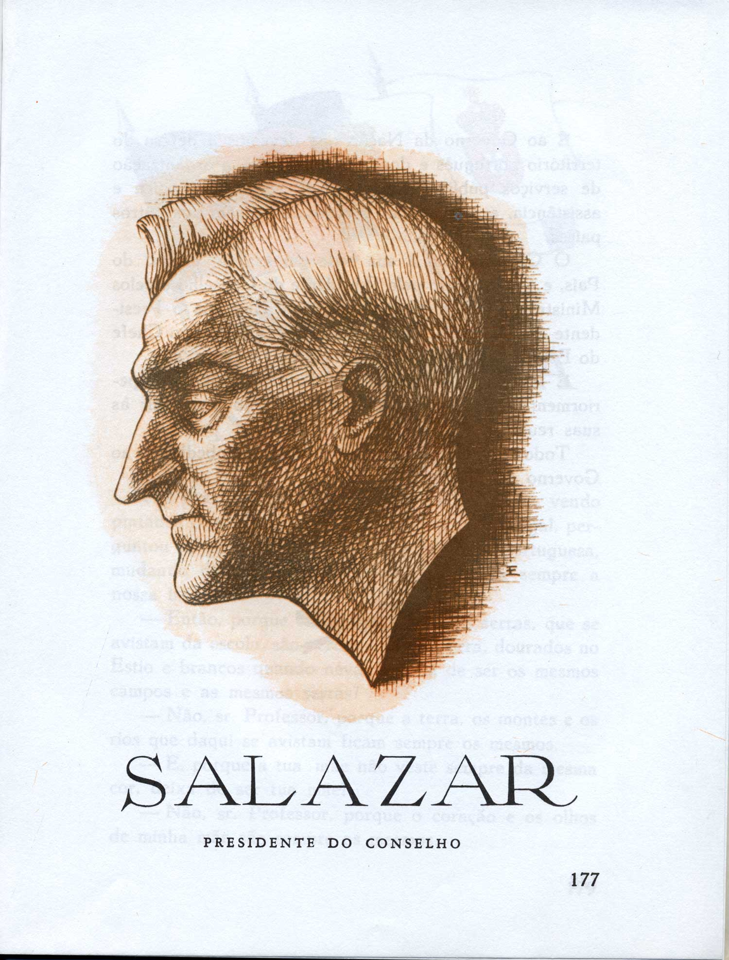 """""""Salazar: Presidente do Conselho""""  (Salazar: """"President of the Council"""")"""