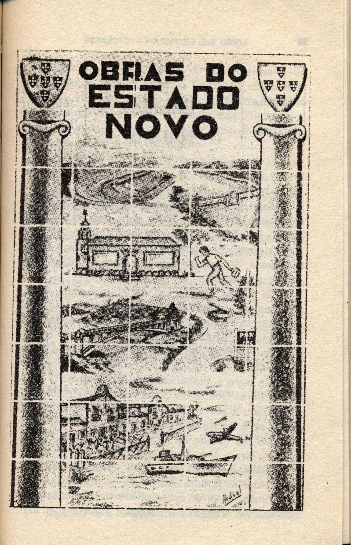 """""""Obras do Estado Novo""""   (""""Building the New State"""")"""