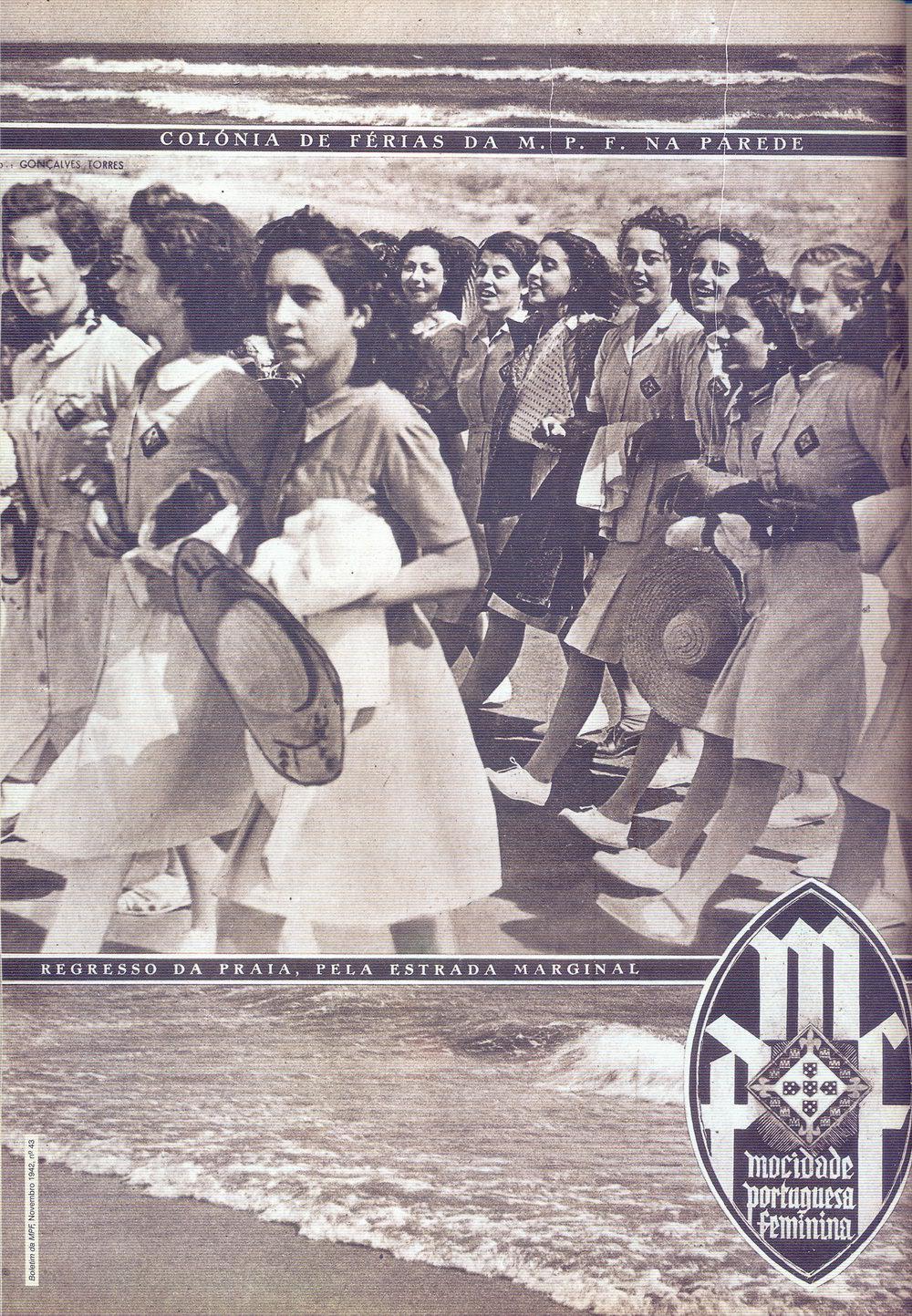 Mocidade Portuguesa Feminina , November, No. 43, 1942.