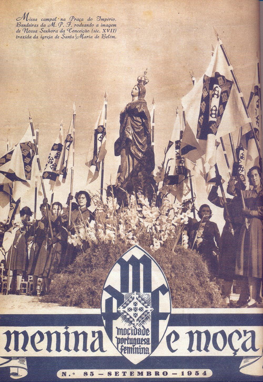 Mocidade Portuguesa Feminina , No. 85, September, 1954