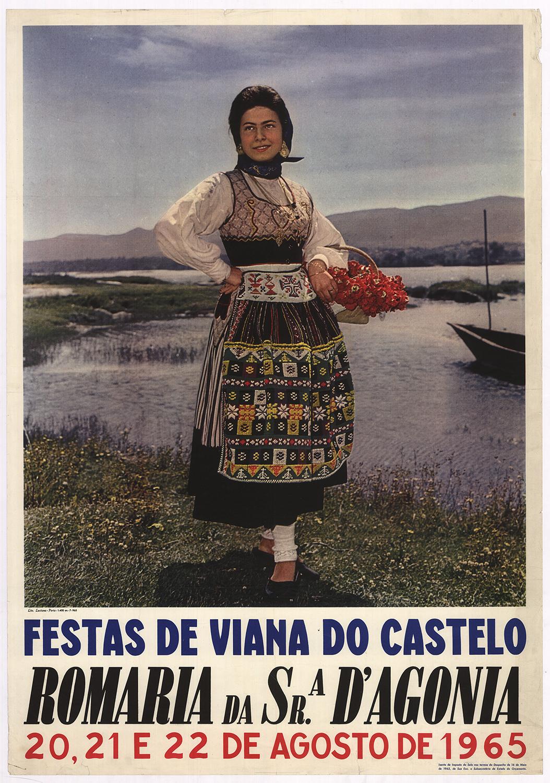 Festas de Viana do Castelo Romaria da Sr.A D'Agonia, 20, 21 E 22 de Agosto de 1965