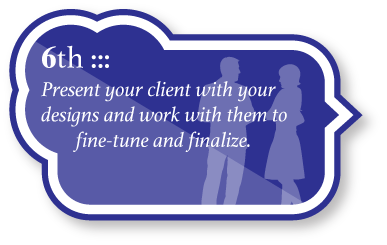 Finalize - your designs with your client by meeting with them in person, or sending them drafts of your digital logos. After discussion, make necessary adjustments until your client is 100 percent satisfied.
