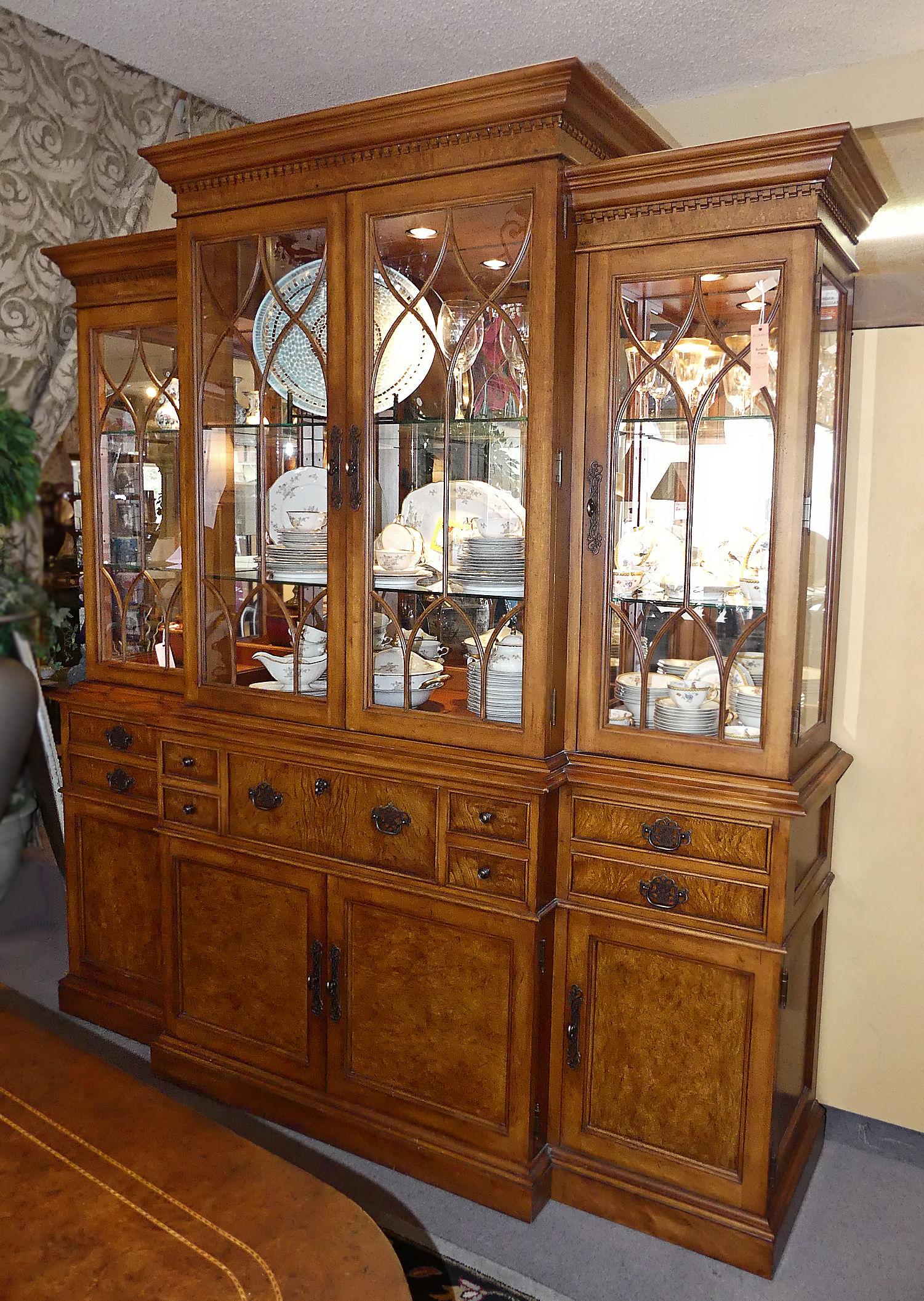 SOLD  Thomasville Ernest Hemingway® China Cabinet