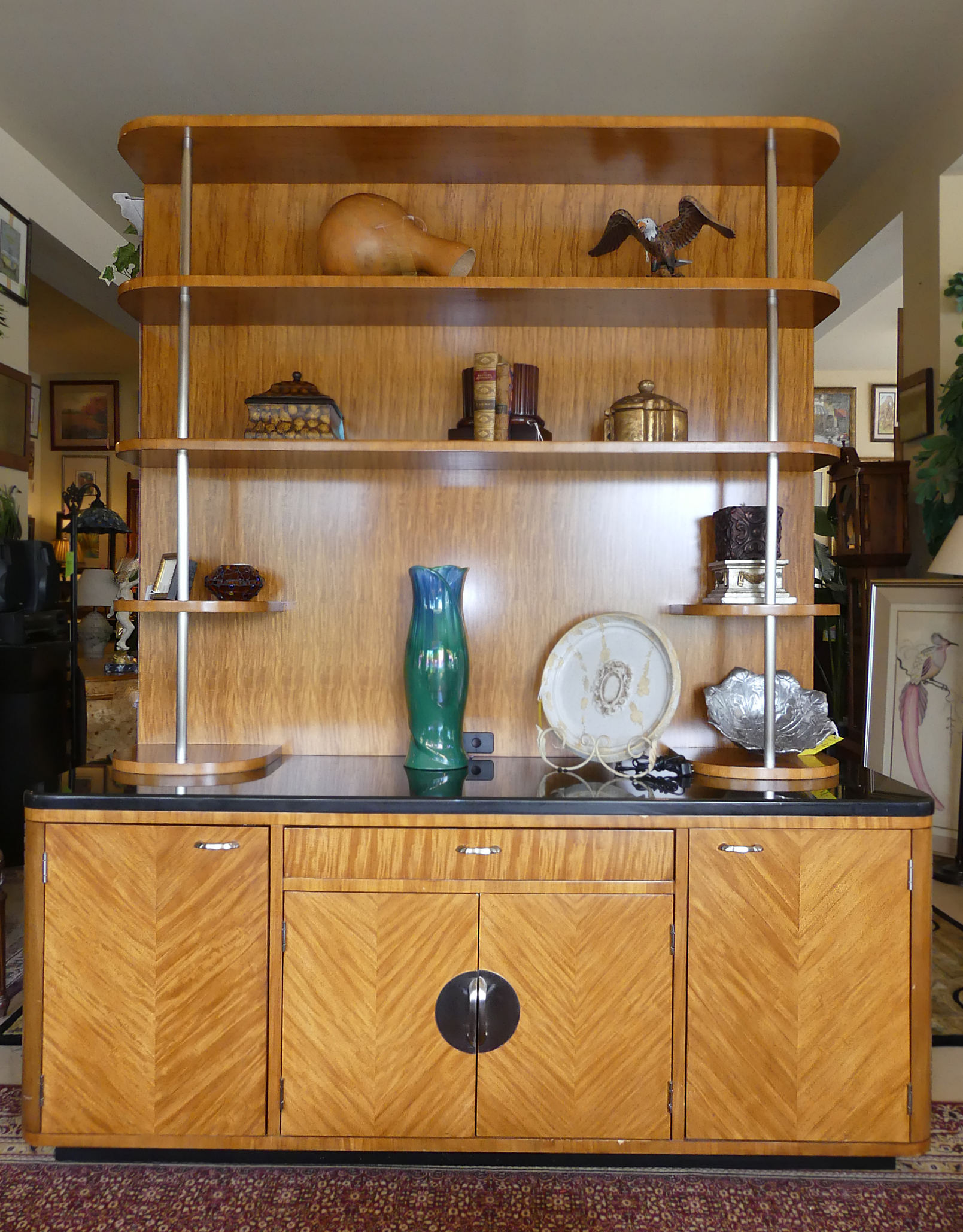 SOLD  Drexel Heritage Disney Signature Studio Credenza Hutch