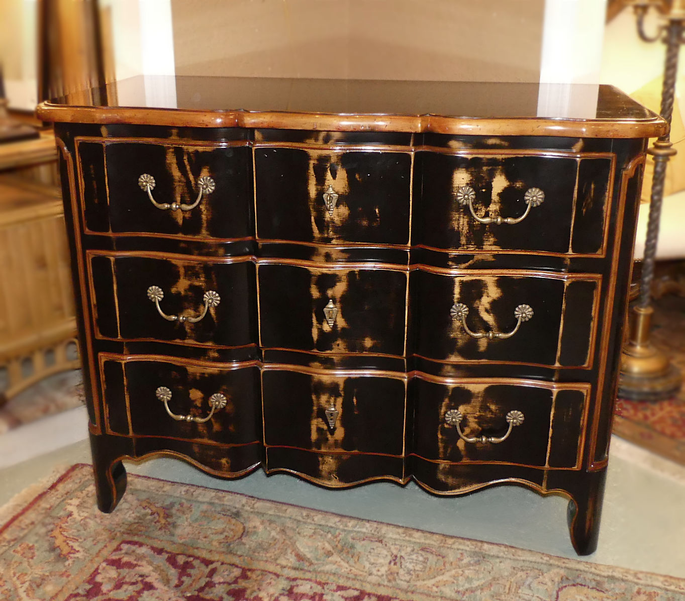 SOLD  Francesco Molon French Country Chest