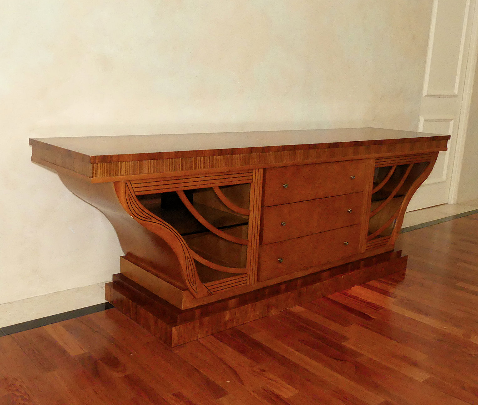 SOLD  Art Deco Style Wing Credenza