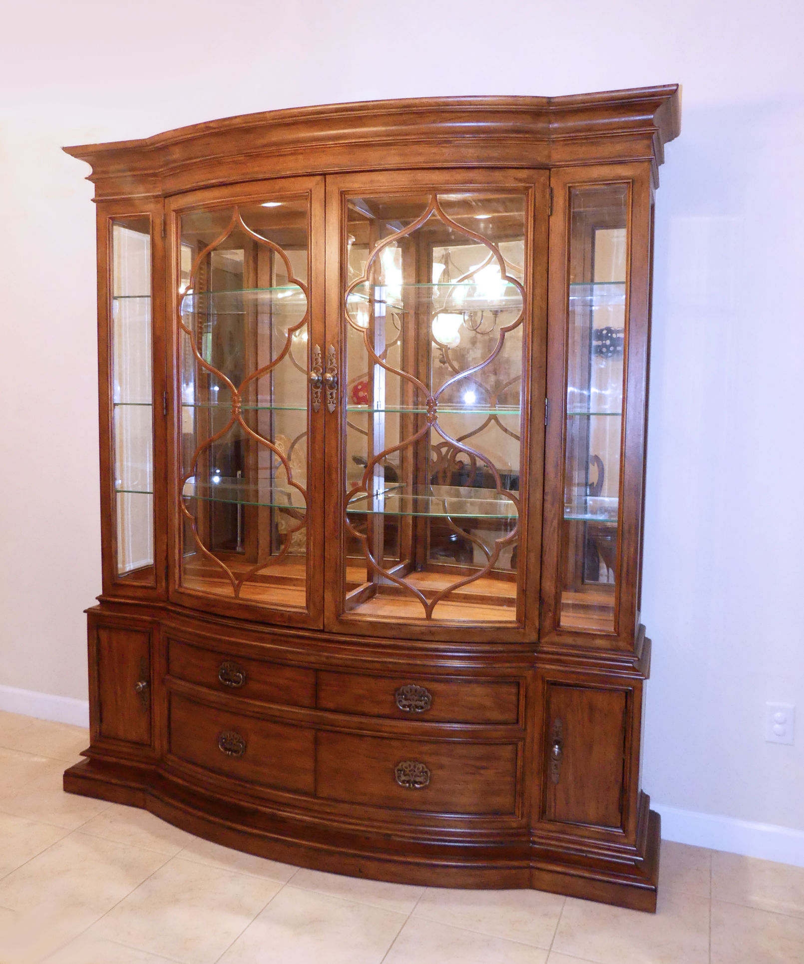 SOLD  Thomasville Cassara China Cabinet