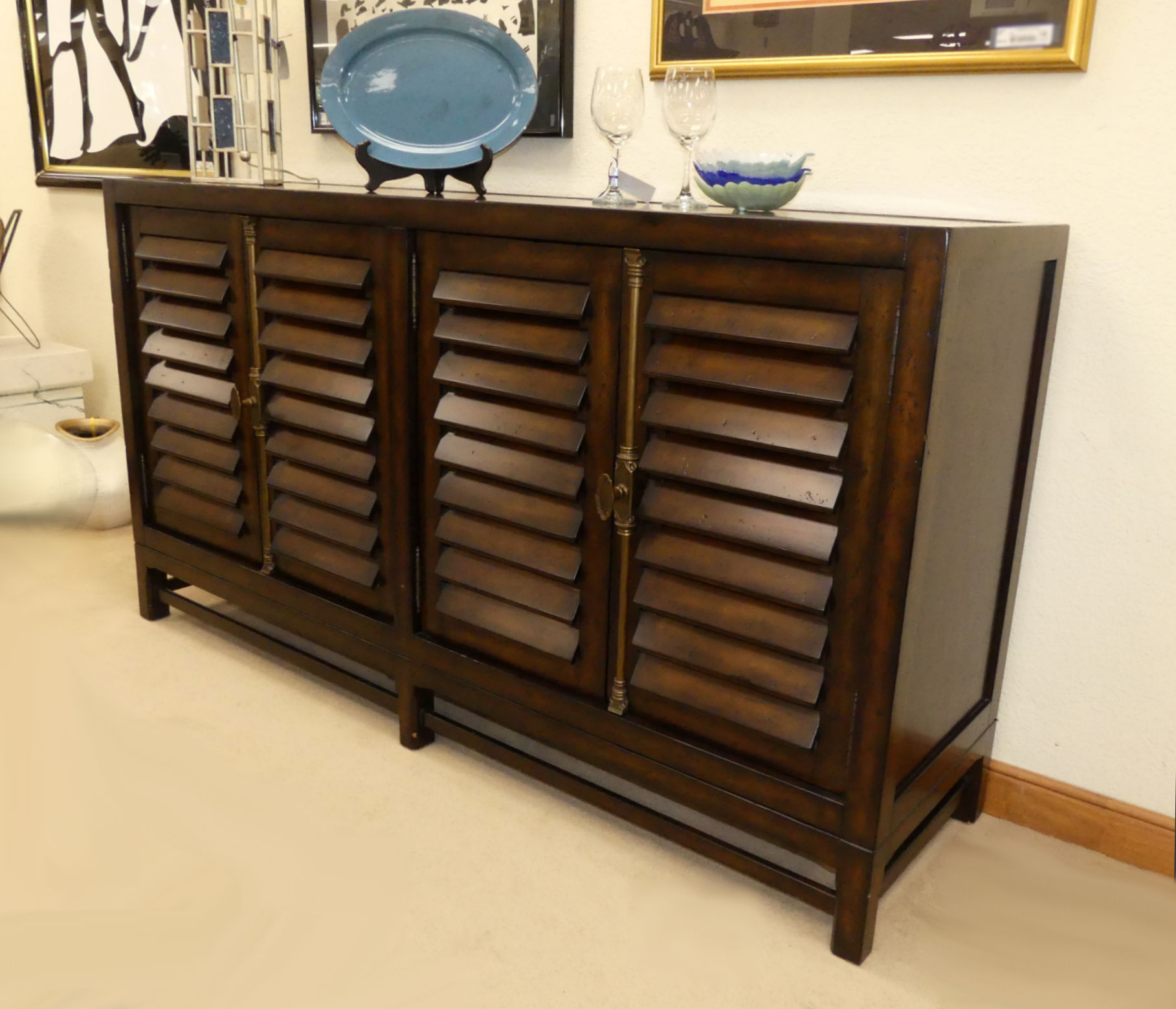 SOLD  Ralph Lauren Cottage/Plantation Style Buffet