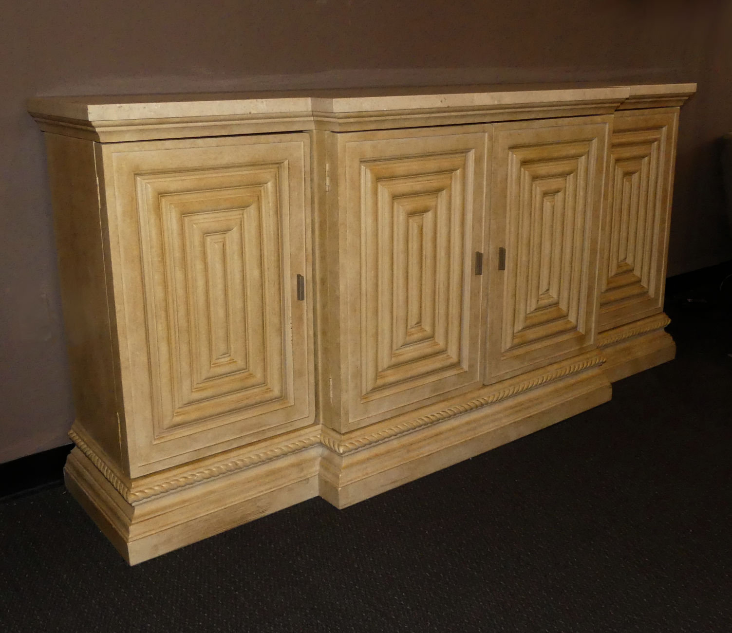 SOLD  Century Furniture Stone Top Buffet