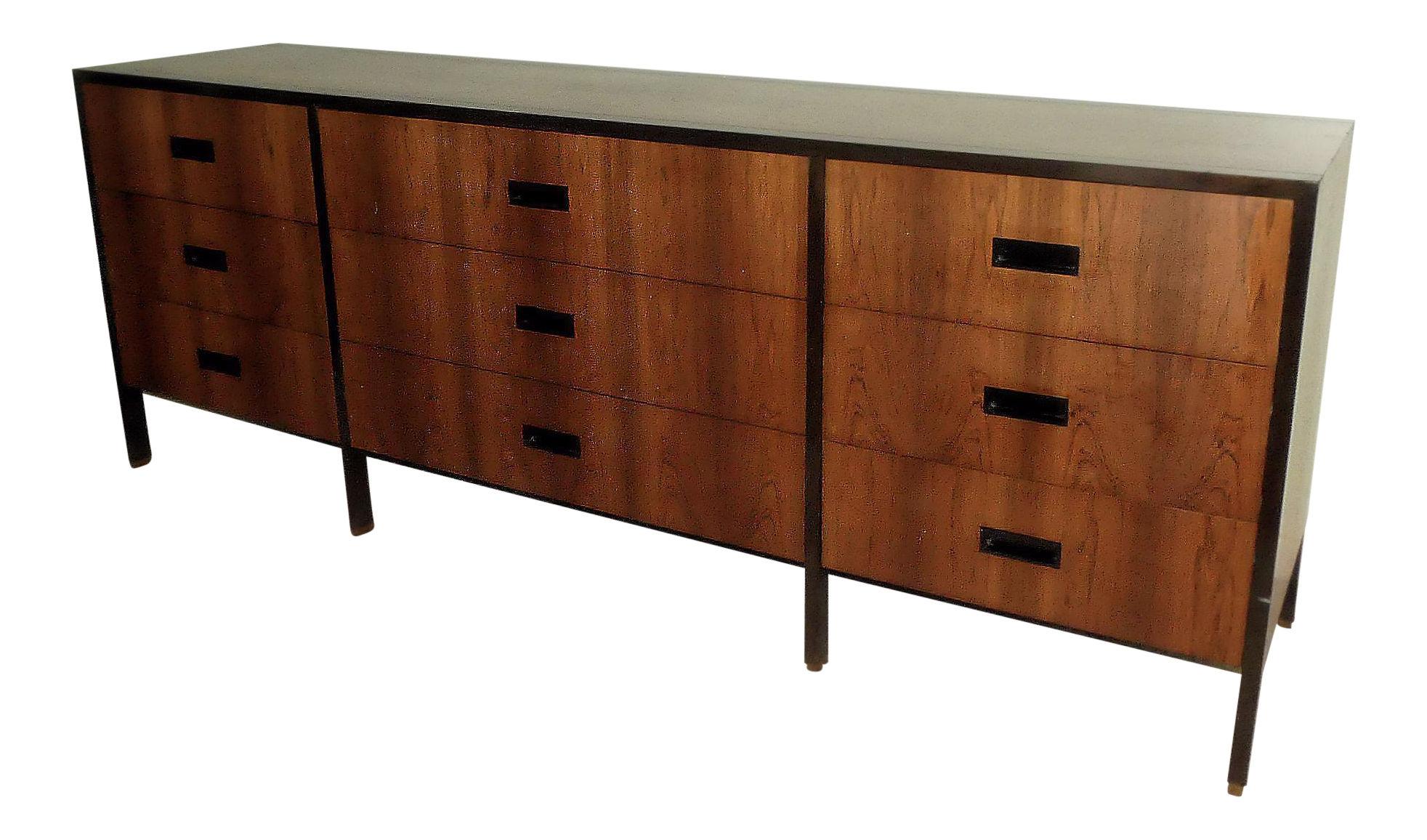 SOLD Mid-Century Modern Harvey Probber Rosewood Dresser