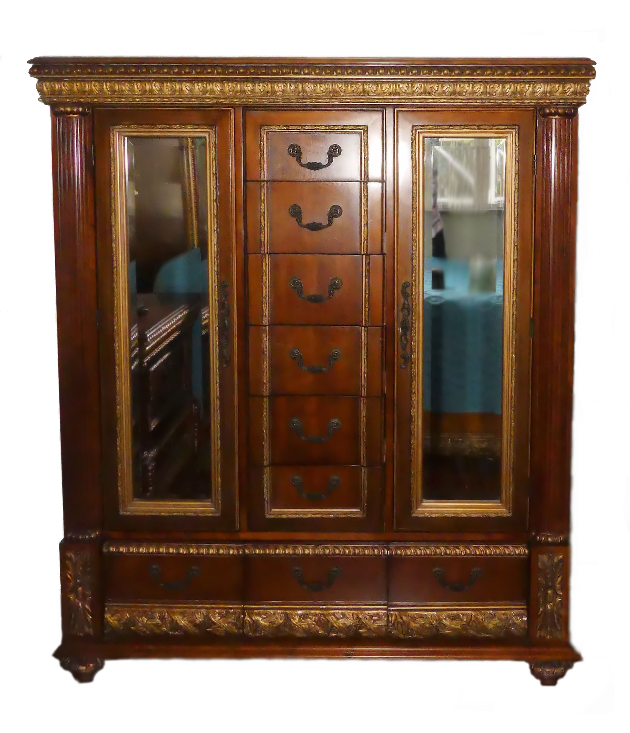 SOLD Pulaski Belissimo Tall Gentleman's Chest