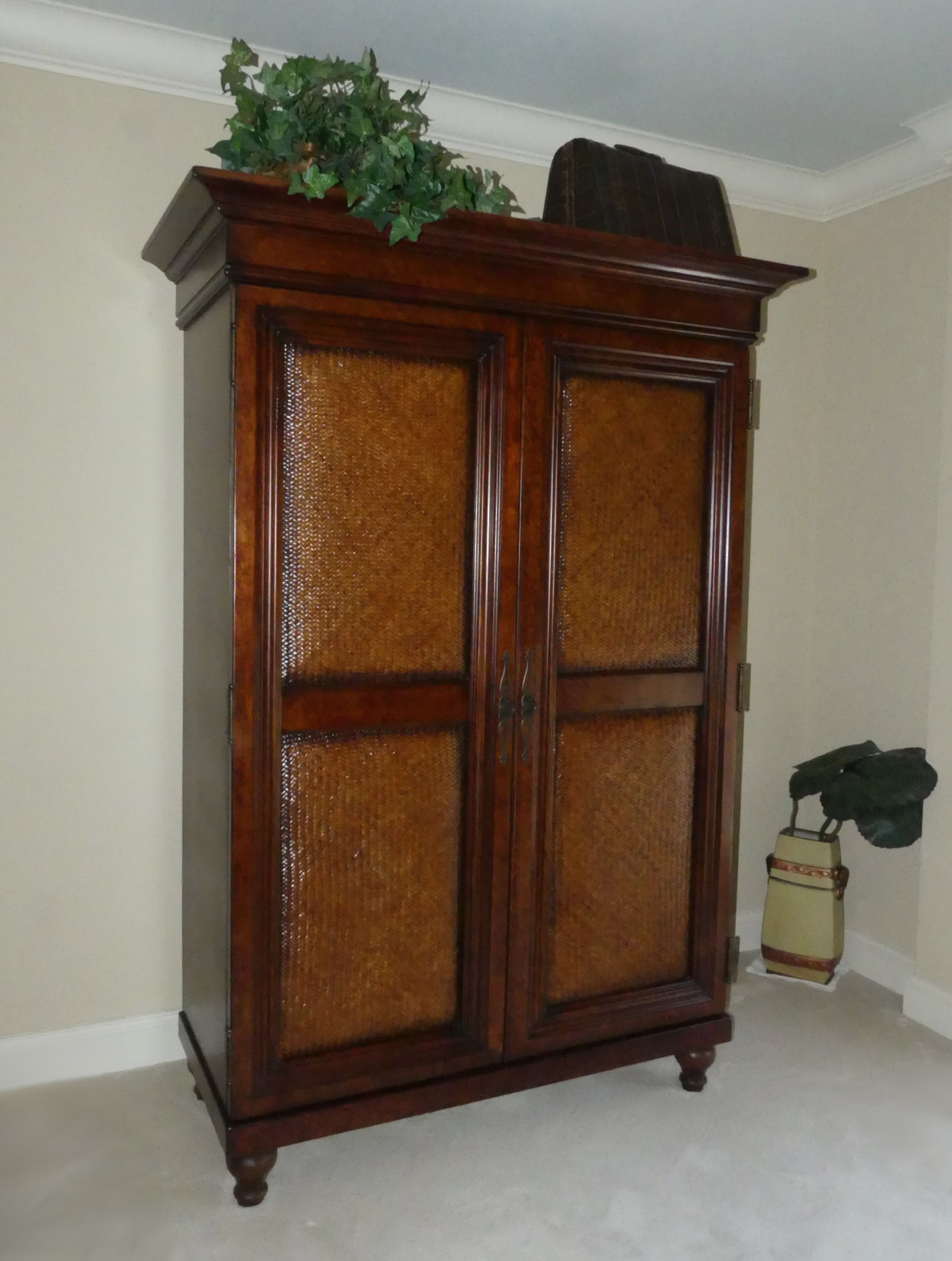 SOLD Tommy Bahama Armoire