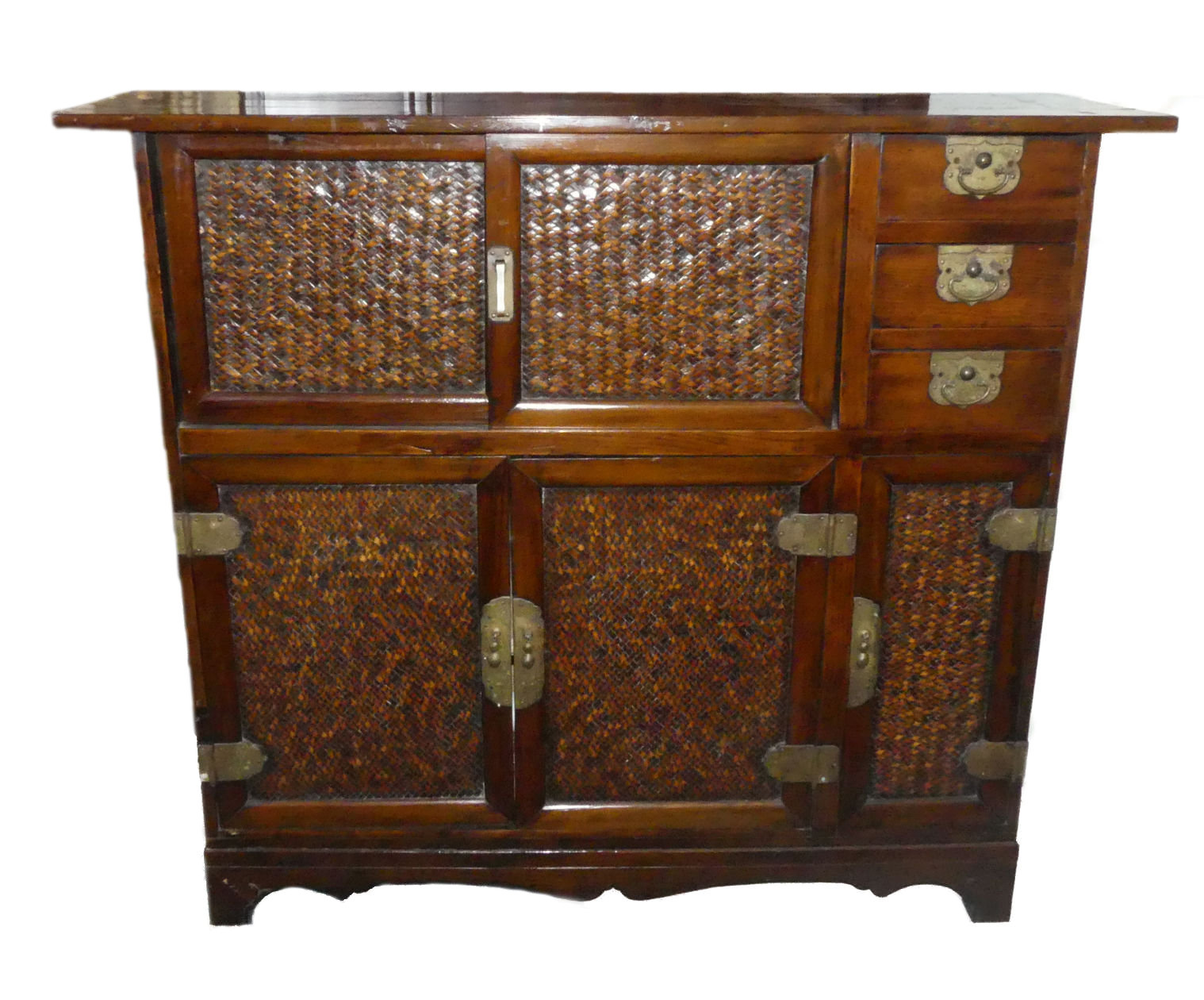 SOLD Vintage Asian Storage Cabinet