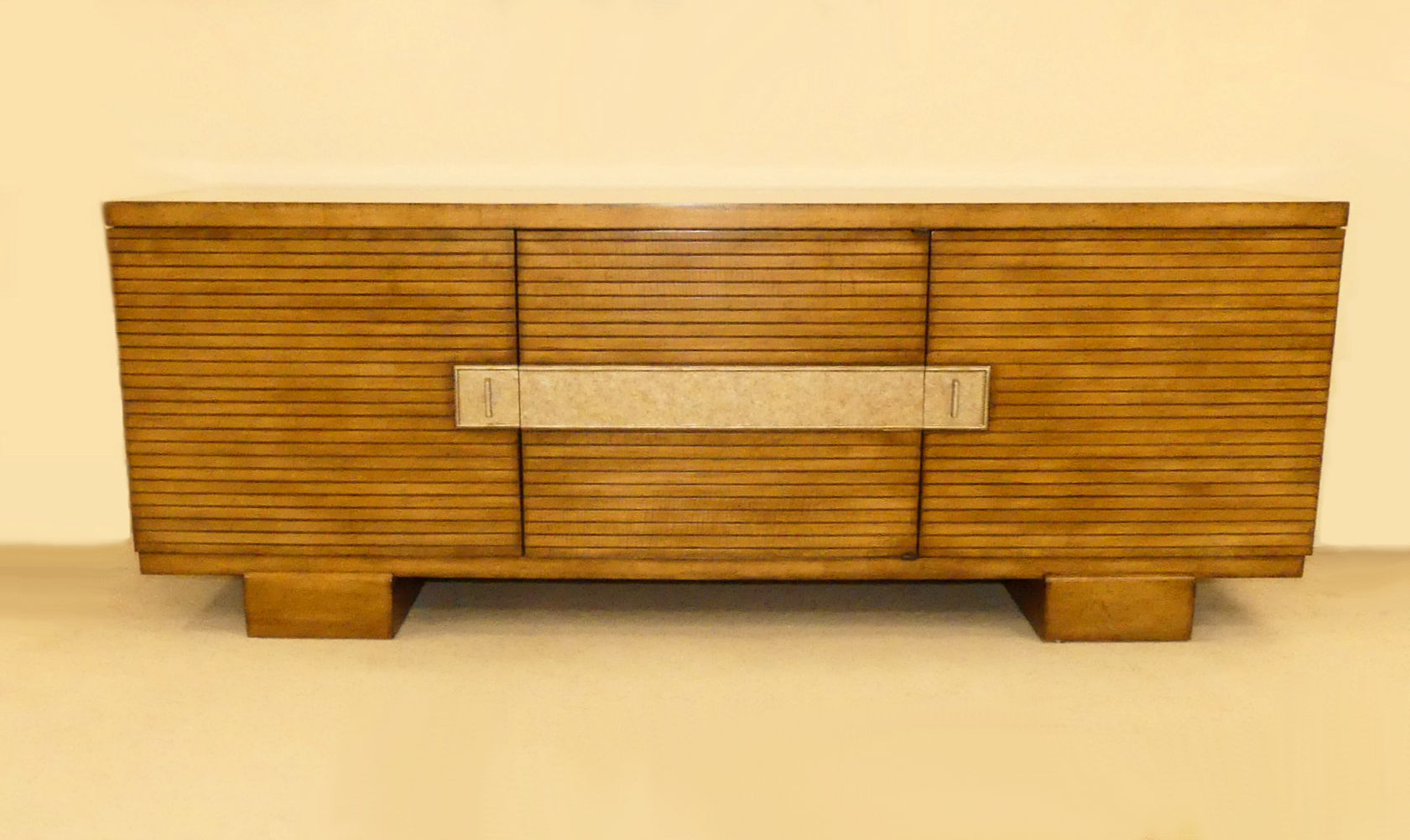 SOLD Century 3-Door Media Cabinet or Credenza