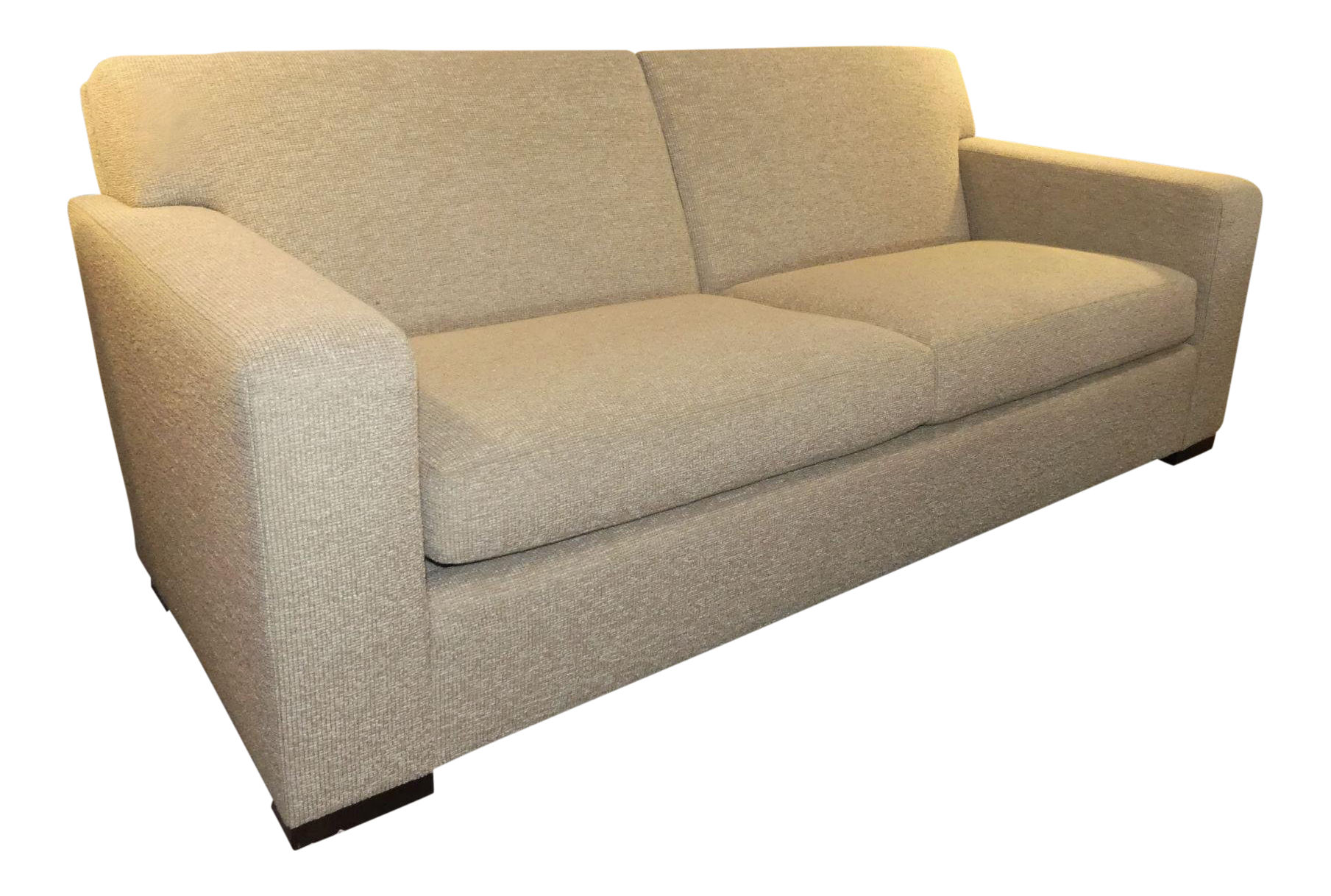 SOLD Donghia Contemporary Track Arm Sofa