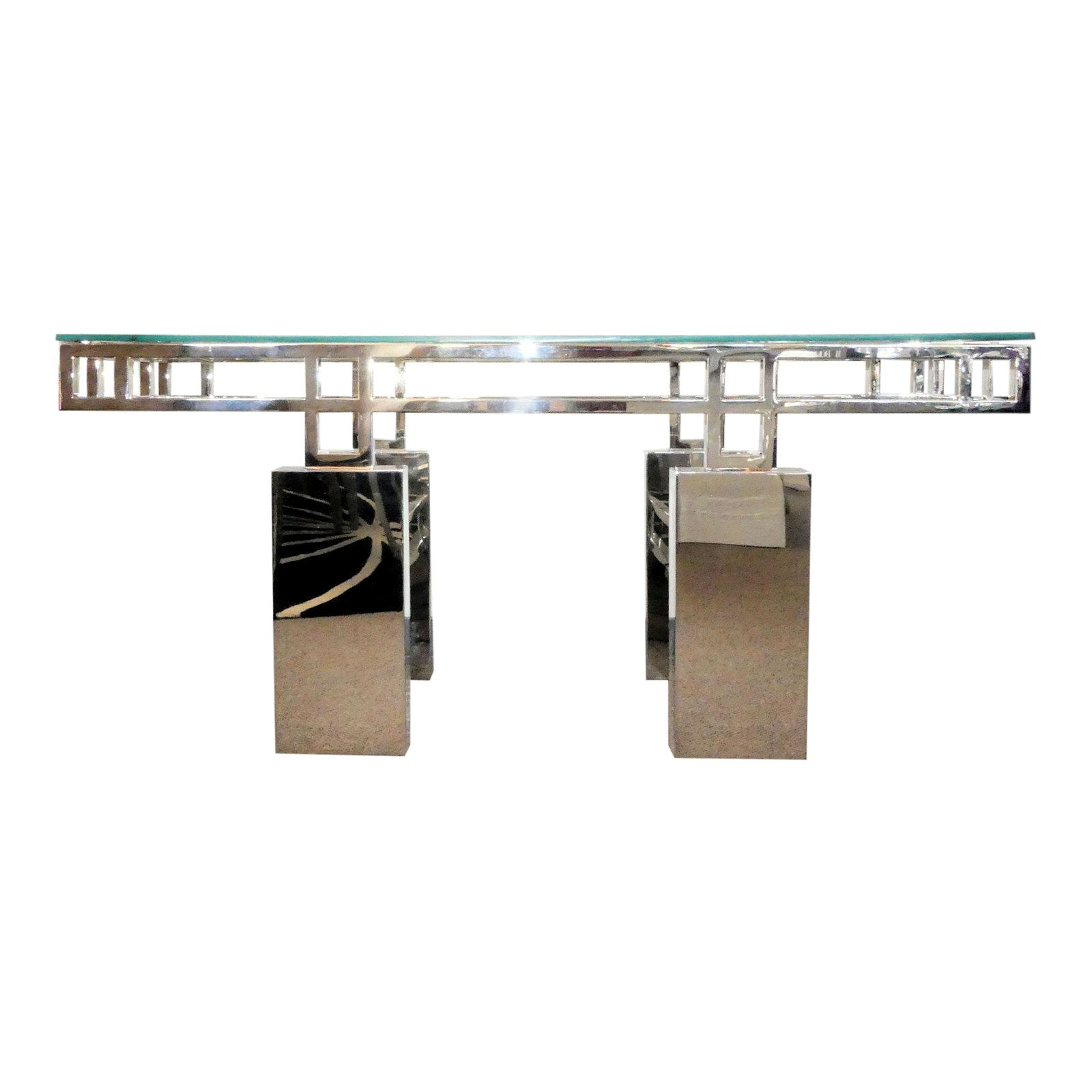 SOLD Brueton Mandarin Dining Table Base or Console Table Base