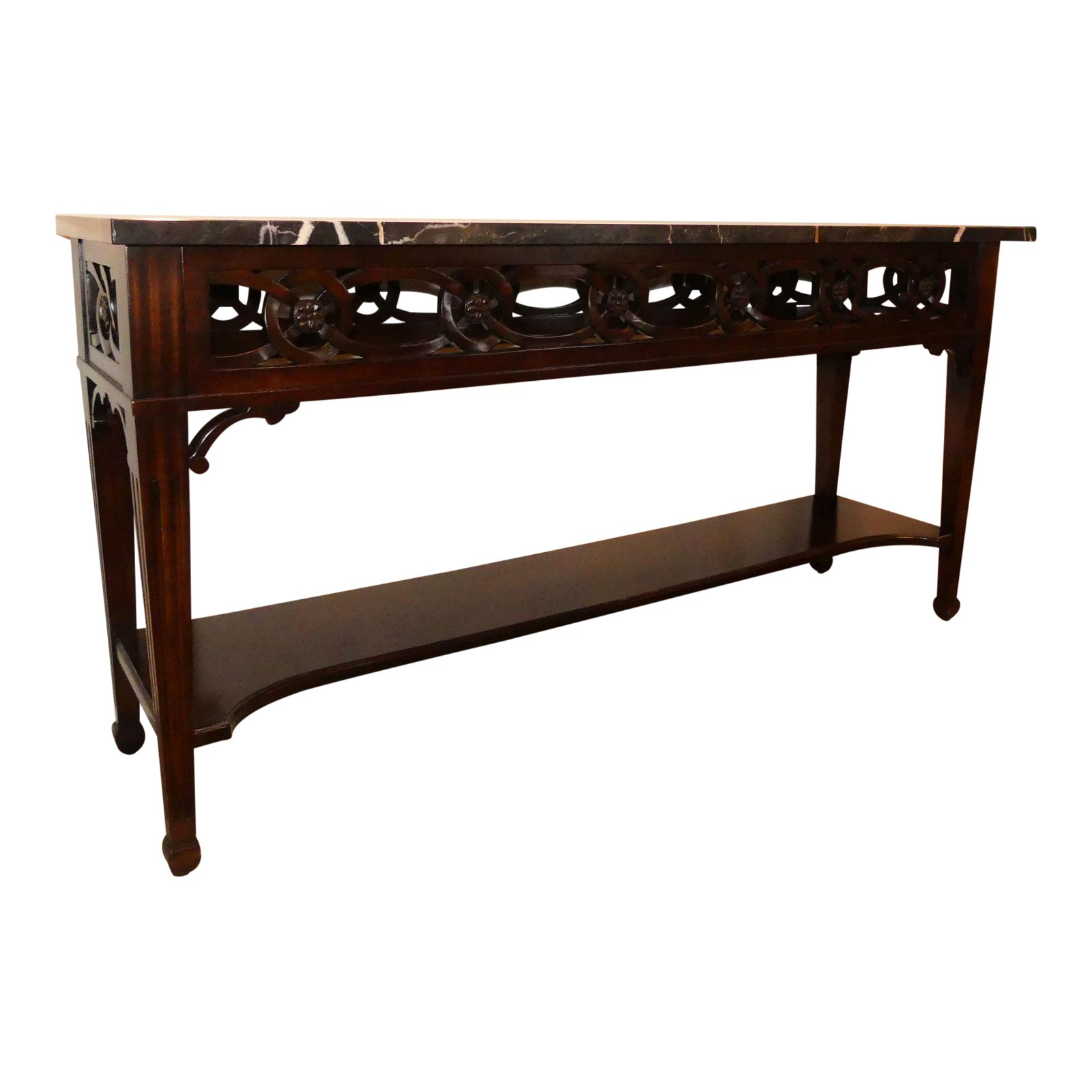SOLD Century Furniture Marble Top Console