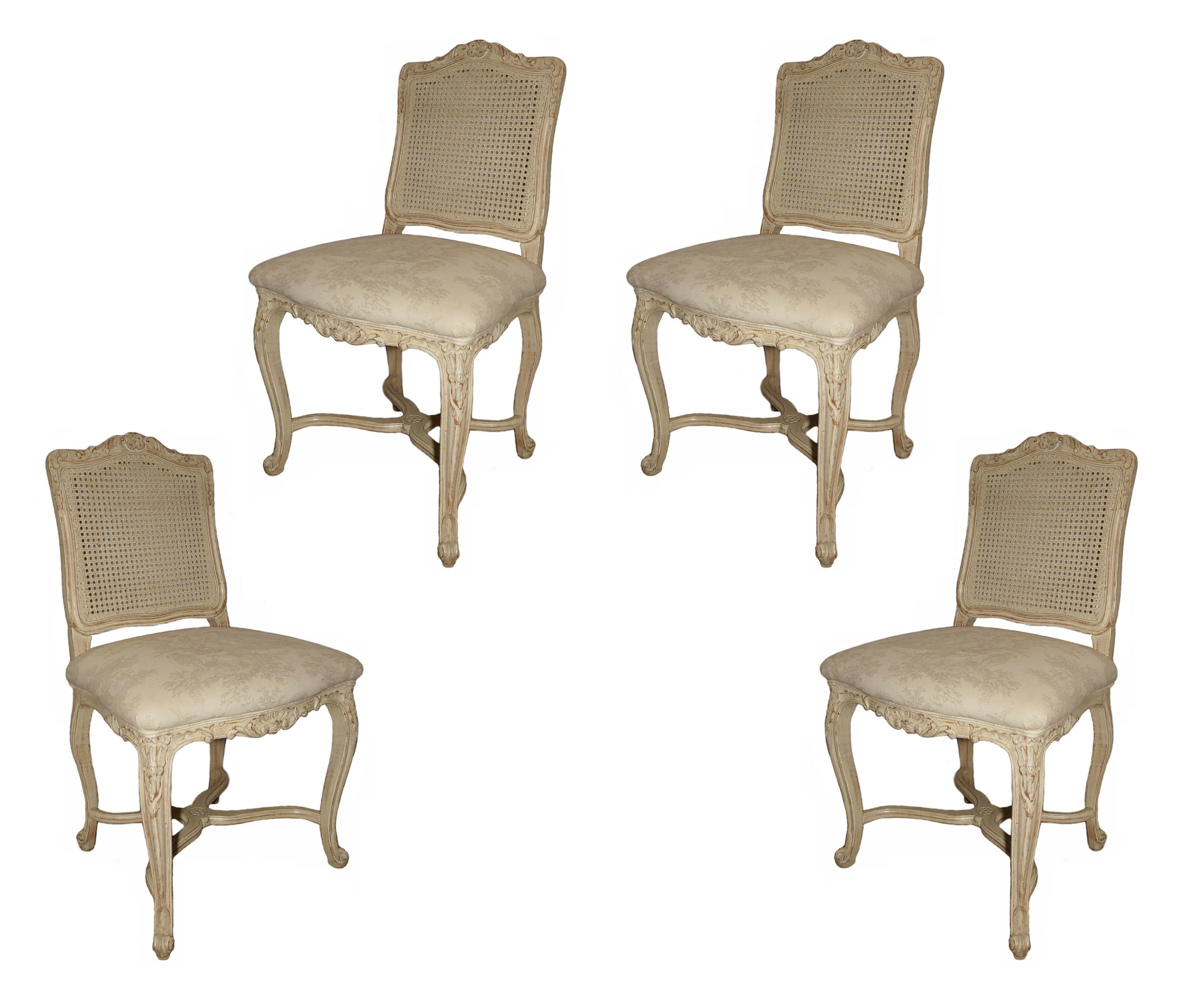 SOLD  French Country Shabby Chic Dining Chairs
