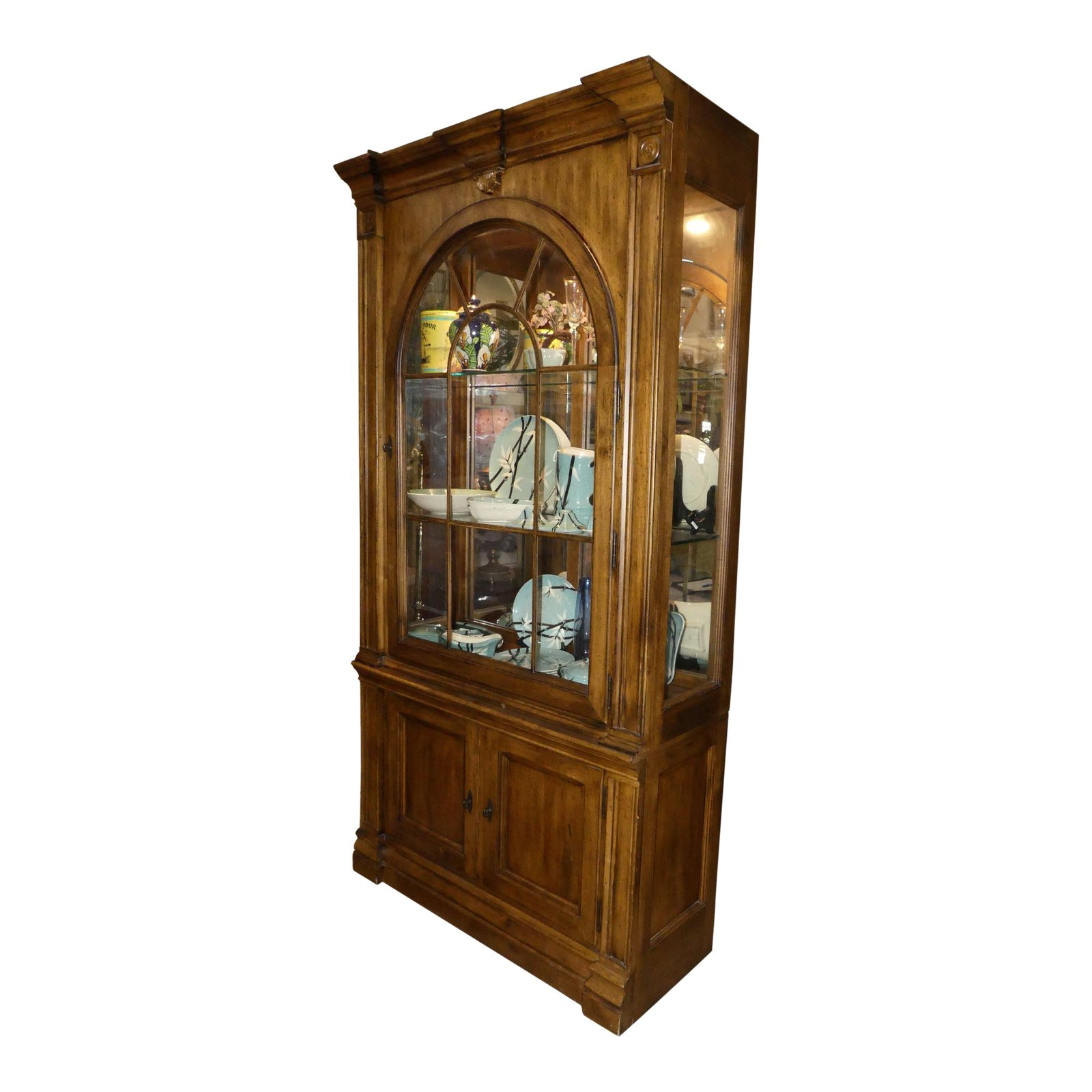 Lexington Lighted China Cabinet