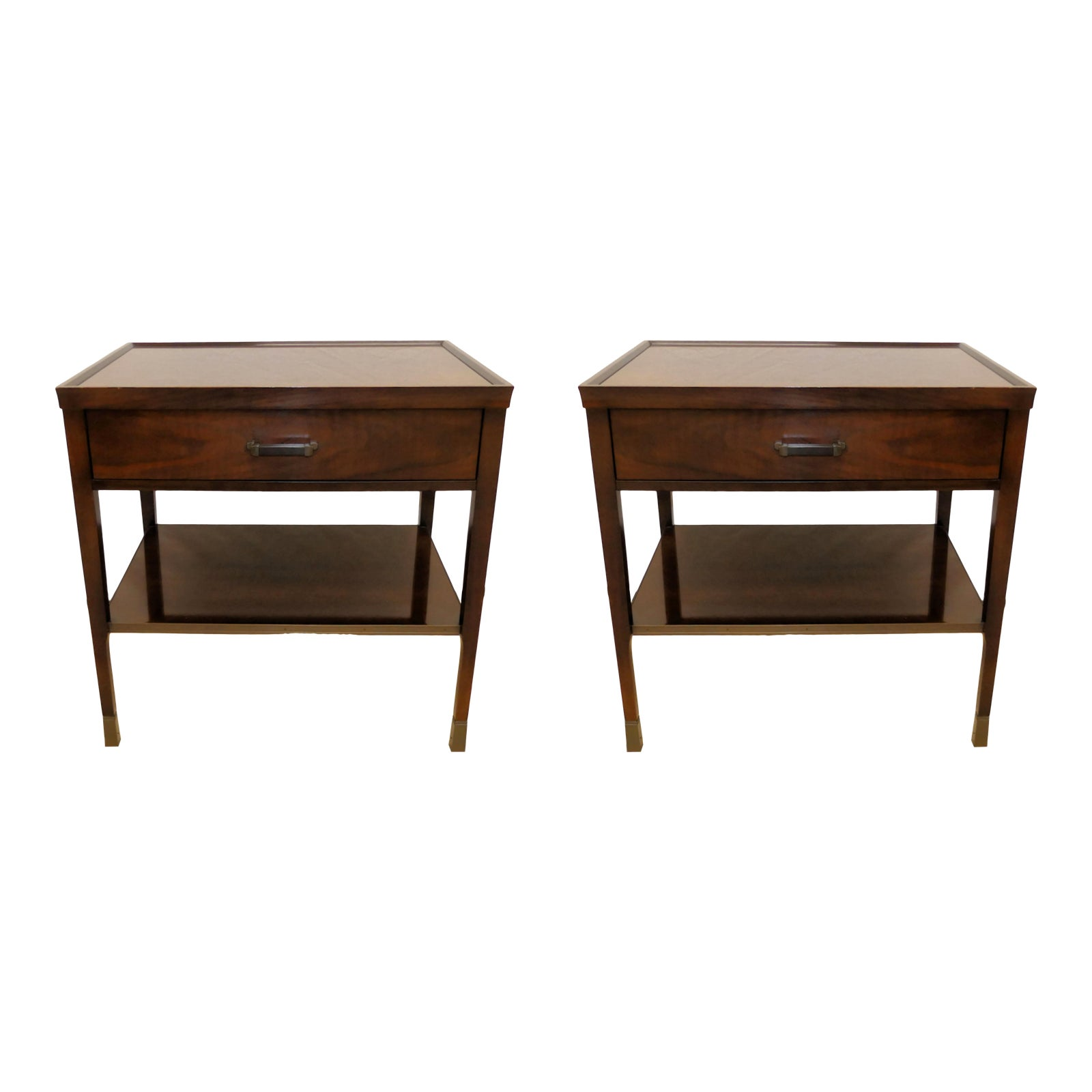 SOLD Baker Bill Sofield Nightstands