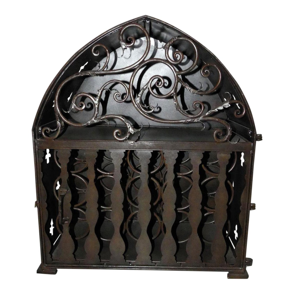 Gothic Wine Rack Cabinet