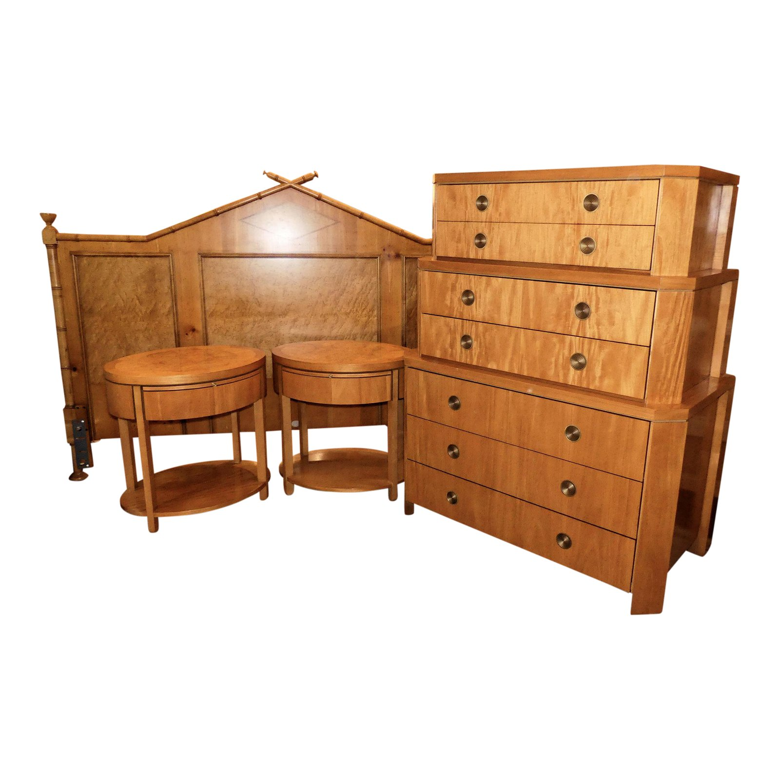 SOLD Baker Mid-Century King Bedroom Set