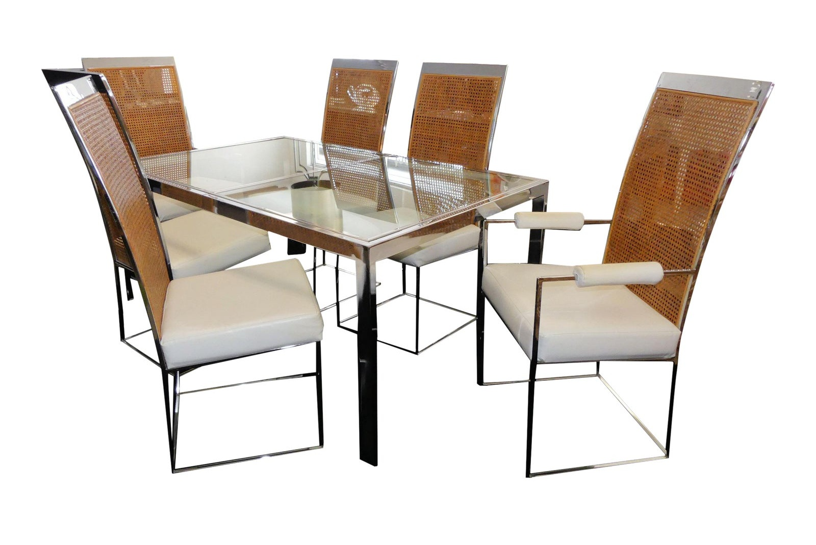 1970s Milo Baughman Thayer Coggin Dining Set