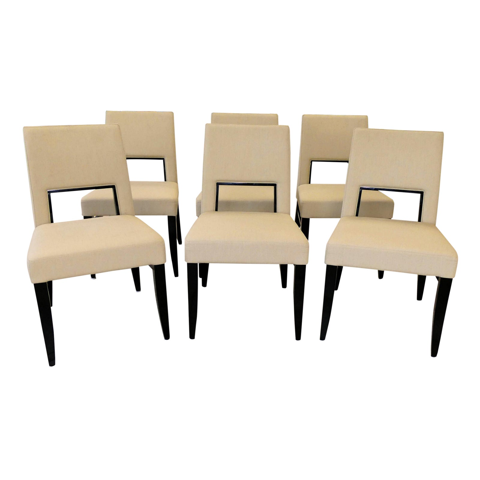 Costantini Pietro Blues Dining Chairs Set of 6