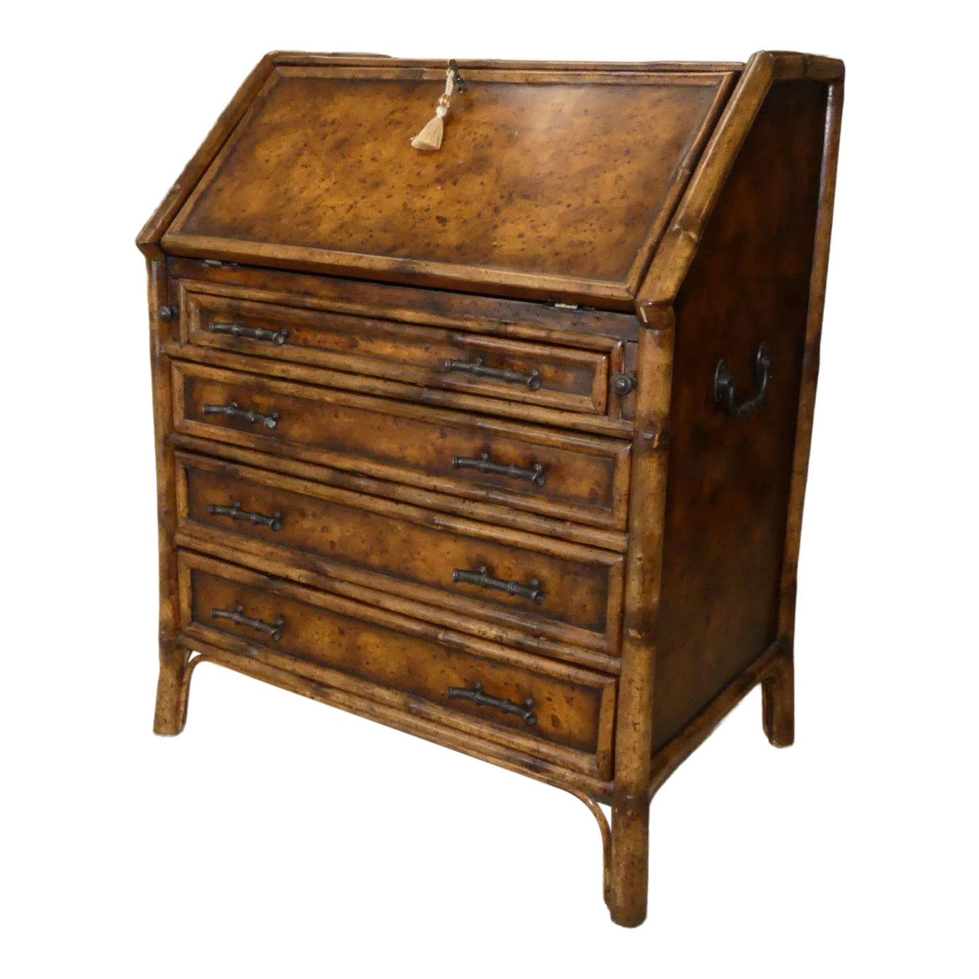 SOLD Theodore Alexander Secretary Chest of Drawers