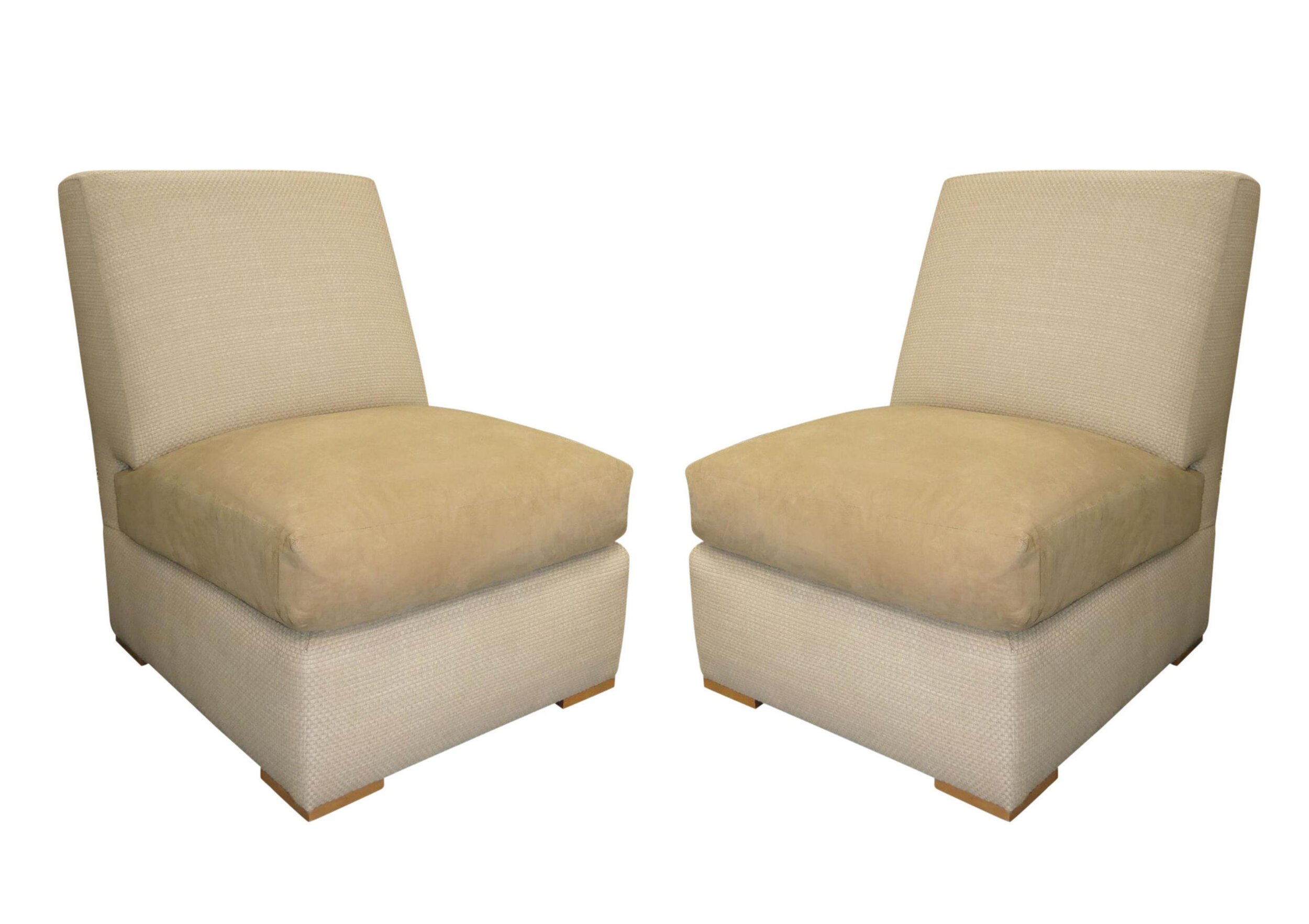 Pair of Kreiss Slipper Chairs 4 Chairs Available
