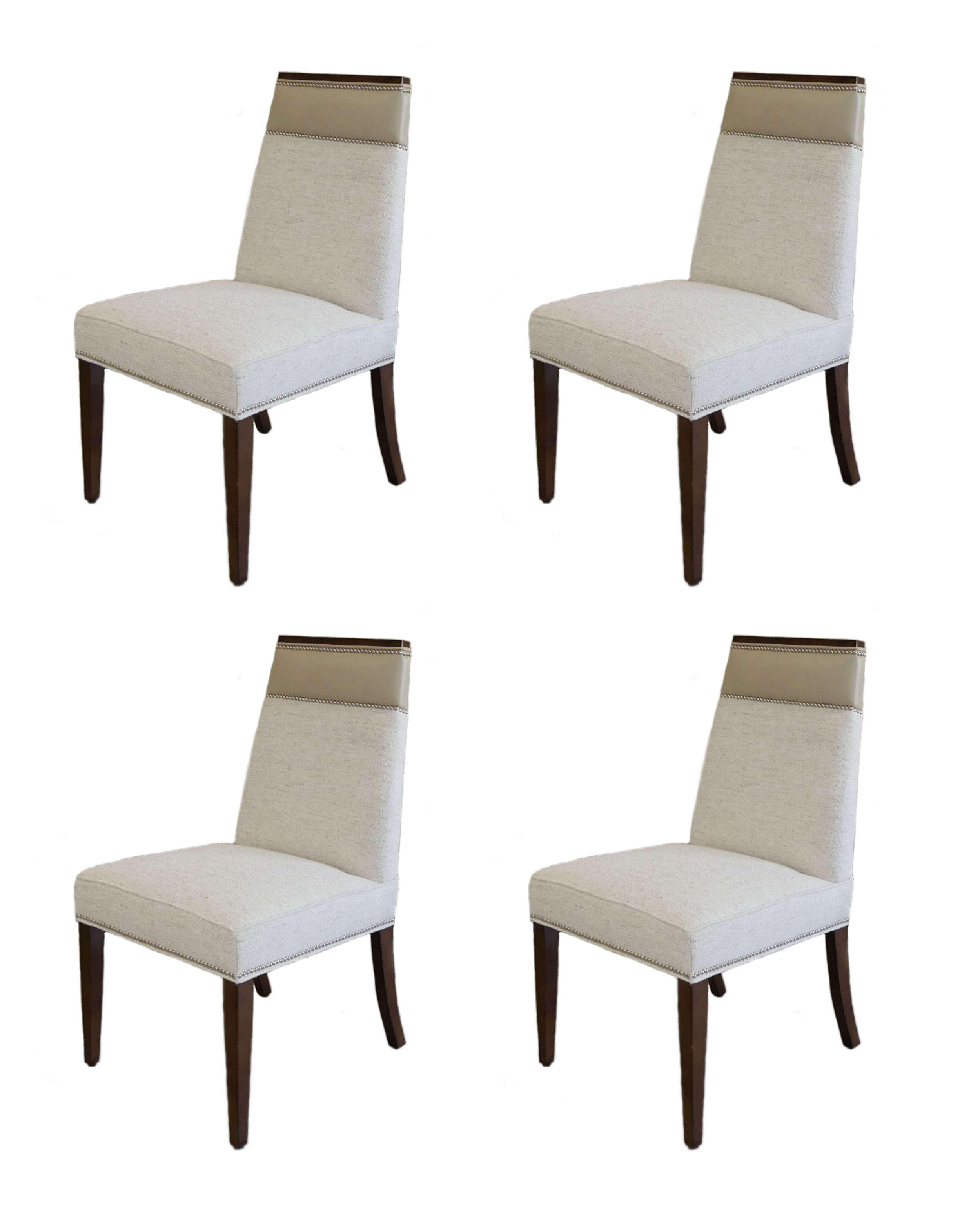 SOLD Set of 4 Vanguard Michael Weiss Brighton Dining Chairs