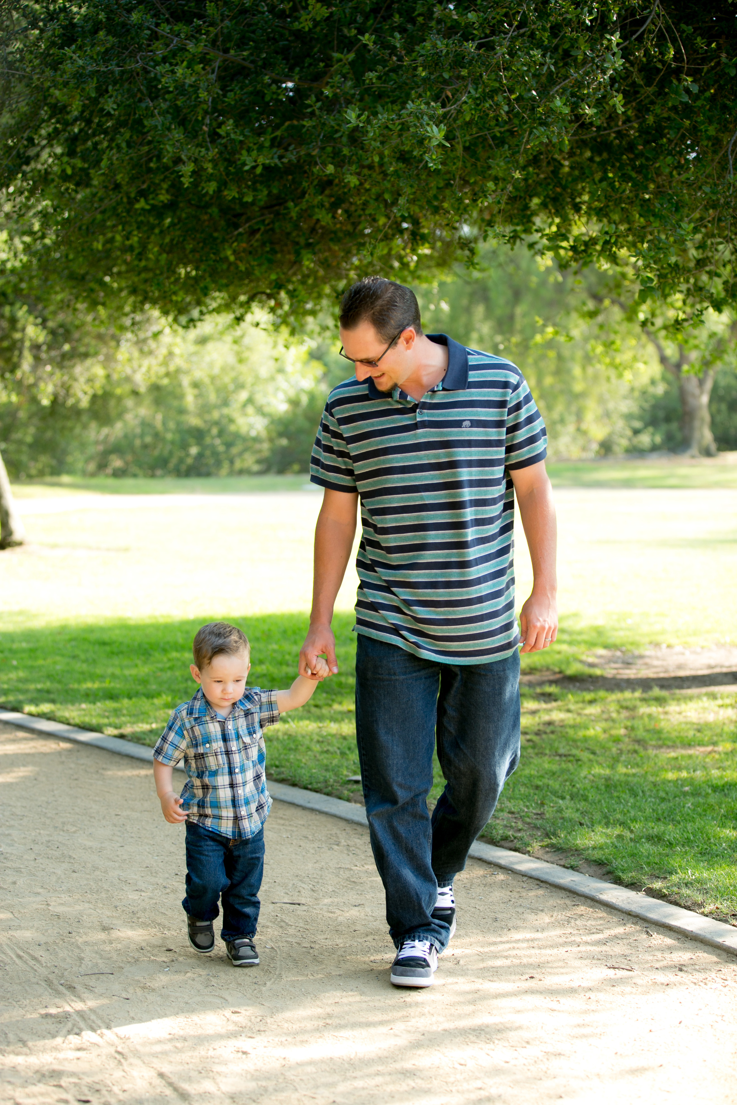 Daddy & Me // Los Angeles Family Photography // Gina Holt Photography