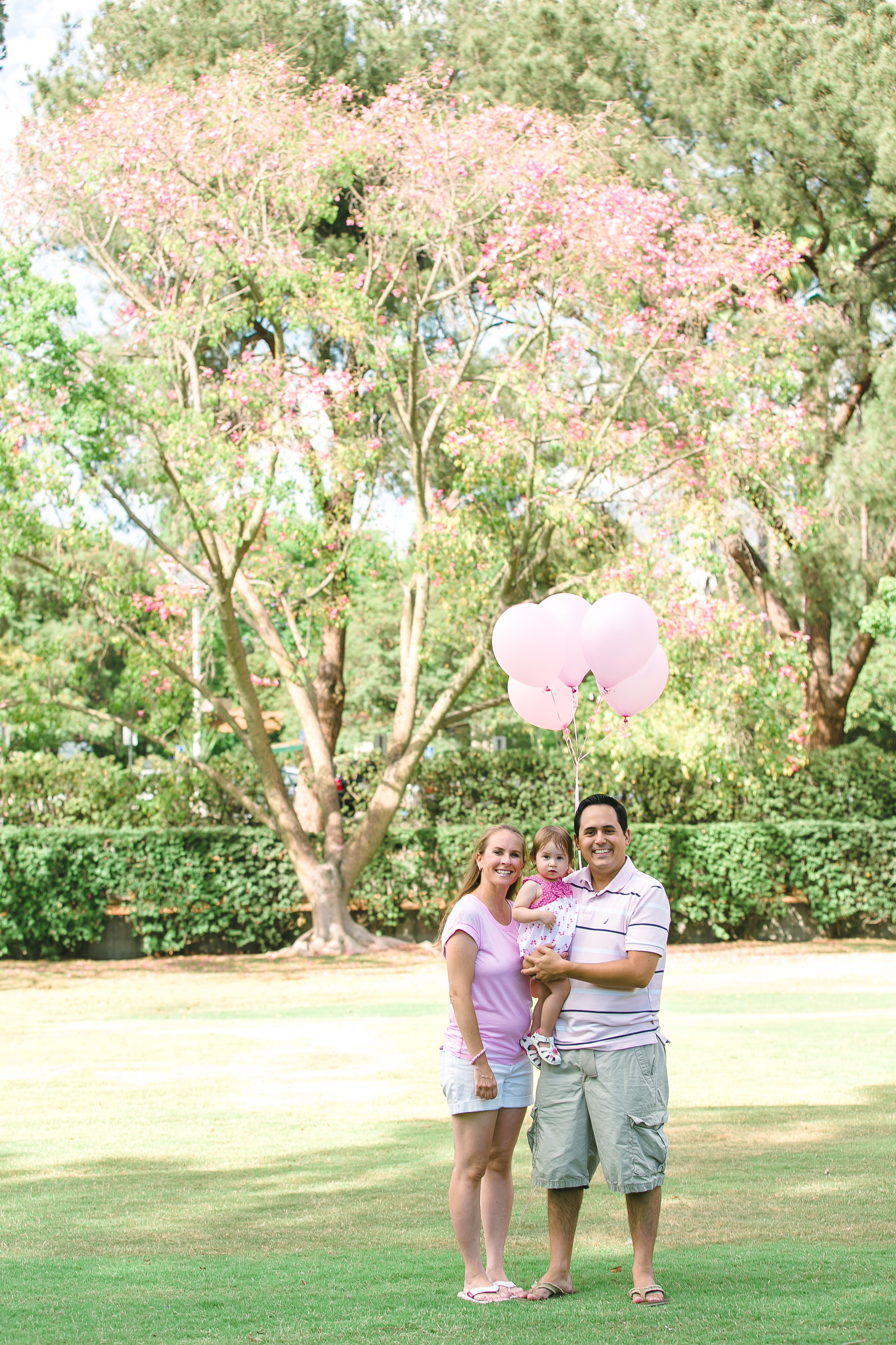 Los Angeles Family Photos, Arcadia Portrait Photography, Arboretum images, little girl with pink balloons, First Birthday, San Gabriel Lifestyle Photographer, Gina Holt Photography, Love, Celebrate, Amazing Family and Baby Pictures
