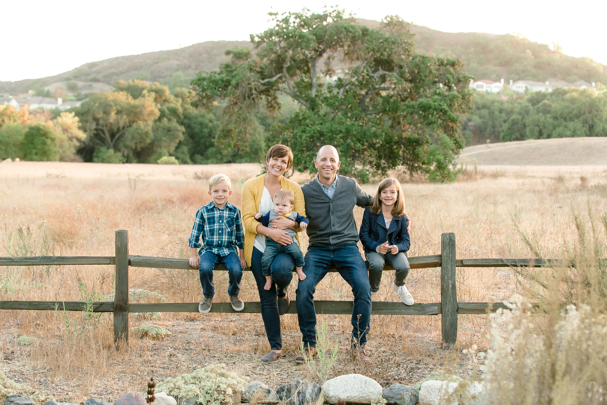 Saddleback Church, Pastor's Family, Orange County outdoor family photos, OC Family,  Trabuco Canyon  Park Photographs, Rancho Santa Margarita Family Portraits, Family of 5, Love, God is the glory, Mustard, blue, brown, family photo inspiration, awesome family photos, fall family photography