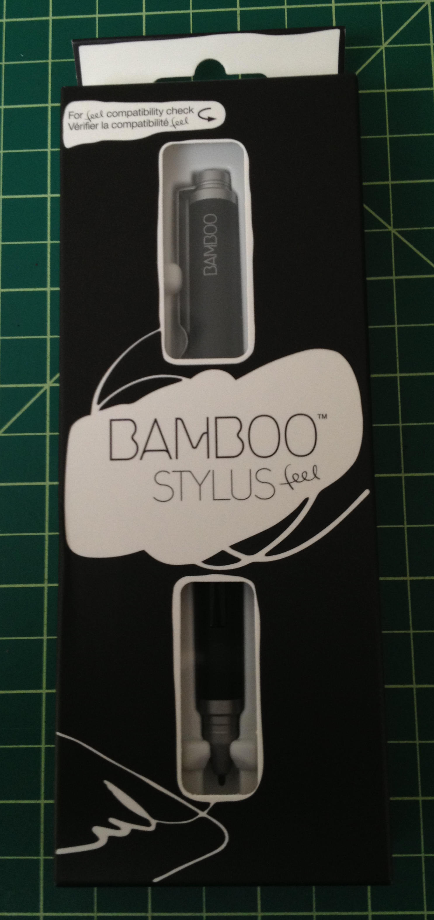 Wacom Bamboo Feel Stylus for Samsung Galaxy Note 10.1 and Windows 8 Tablets - Black (CS300UK)